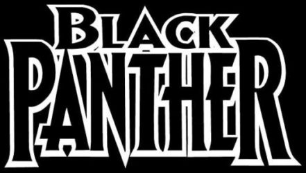 black panther comics logo
