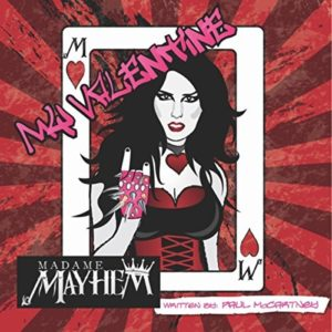 madame mayhem, album covers
