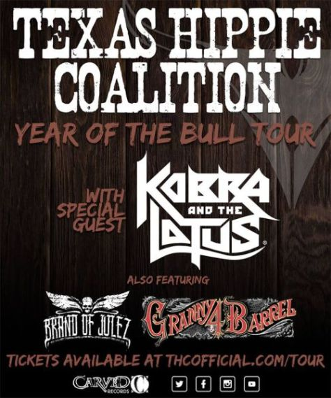 texas hippie coalition, tour posters