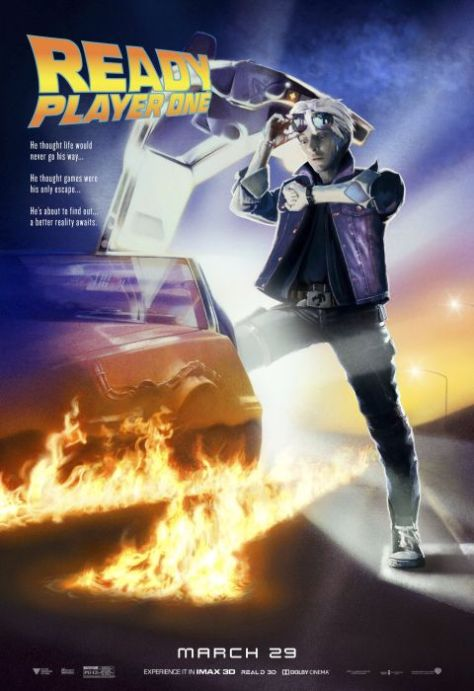 movie posters, warner brothers pictures,ready player one
