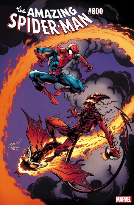 marvel comics, comic book covers, amazing spider-man 800 variants