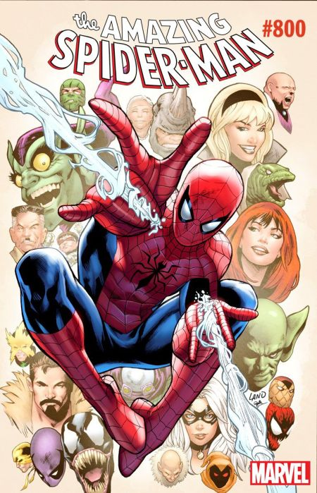 marvel comics, comic book covers, amazing spider-man 800 variants