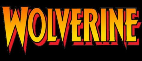 wolverine comics logo, marvel comics, marvel entertainment