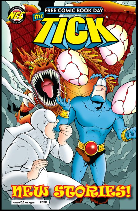 free comic book day, nec comics, comic book covers
