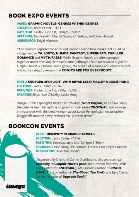 image comics, book expo, book con