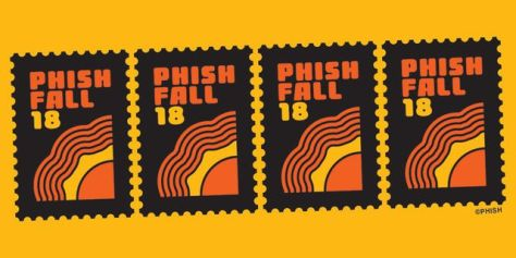 phish, tour posters, phish tour posters