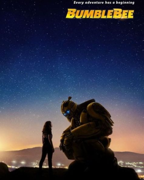 movie posters, paramount pictures, bumblebee, promotional posters