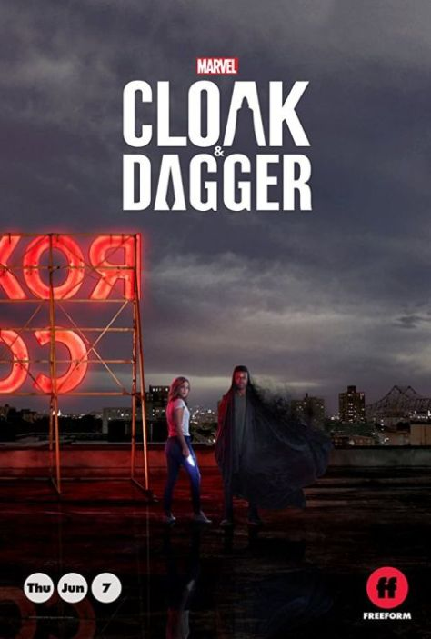 cloak and dagger, television poster