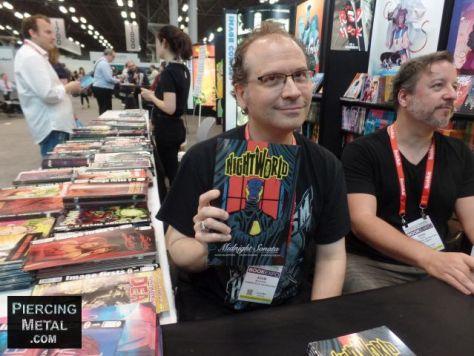 book expo, image comics, book expo 2018, photos of book expo 2018