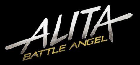 alita battle angel movie logo