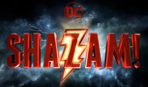 warner brothers pictures, shazam movie logo