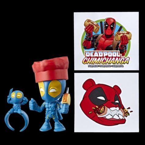 hasbro toys, deadpool, deadpool chimichanga surprise