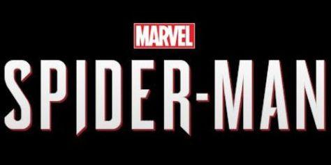 marvel's spider-man logo, playstation