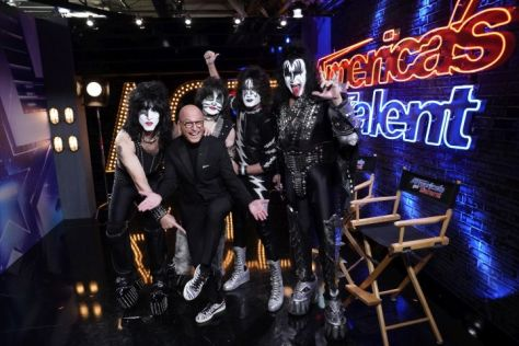 kiss, americas got talent, howie mandel