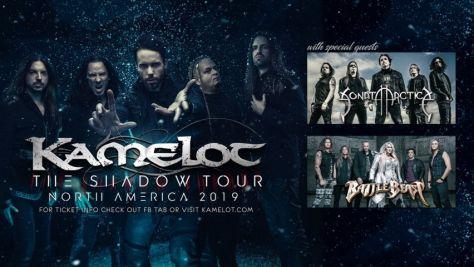 tour posters, kamelot, kamelot tour posters