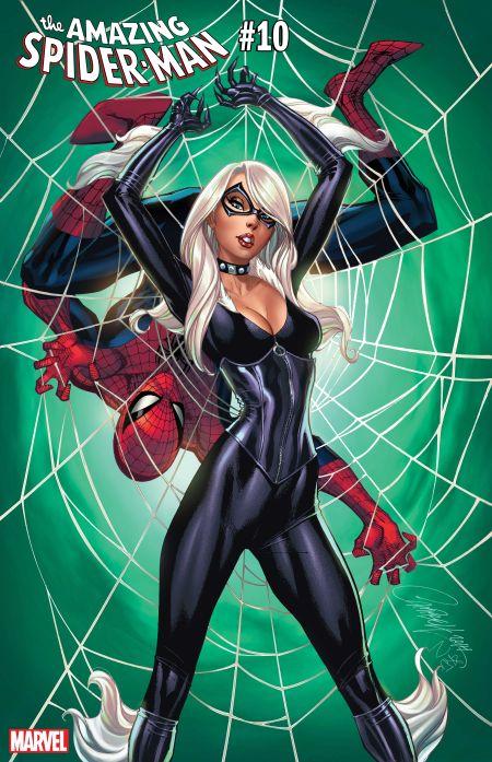 comic book covers, marvel comics, amazing spider-man, black cat variants