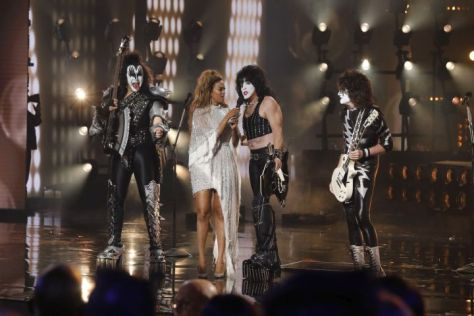 kiss, americas got talent, trae patton