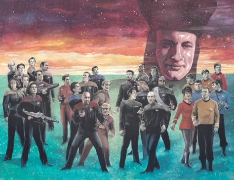 comic book covers, idw publishing, star trek comic books