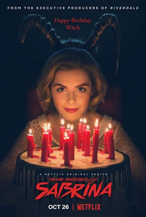 television posters, netflix, chilling adventures of sabrina