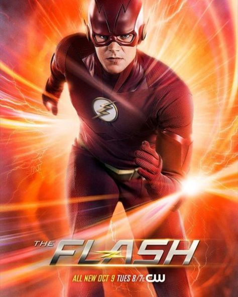 television posters, warner brothers television, the flash