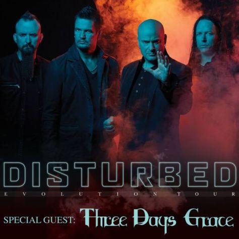 tour posters, disturbed, disturbed tour posters