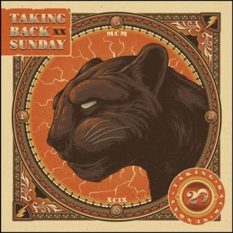 tour posters, taking back sunday