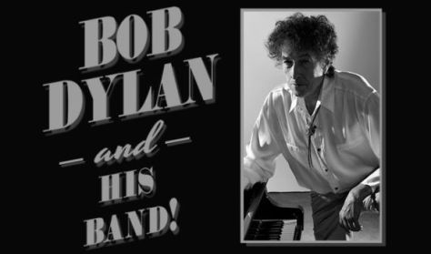 tour posters, bob dylan, bob dylan and his band tour posters