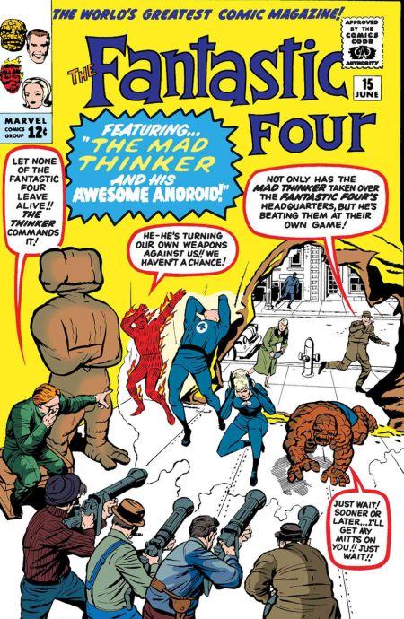 marvel comics, comic book covers, marvel comics first issues, true believers fantastic four villains, fantastic four comics