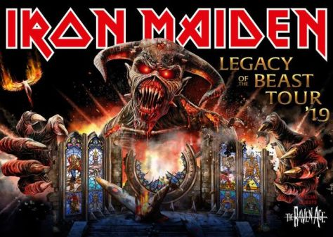 tour posters, iron maiden tour posters, iron maiden