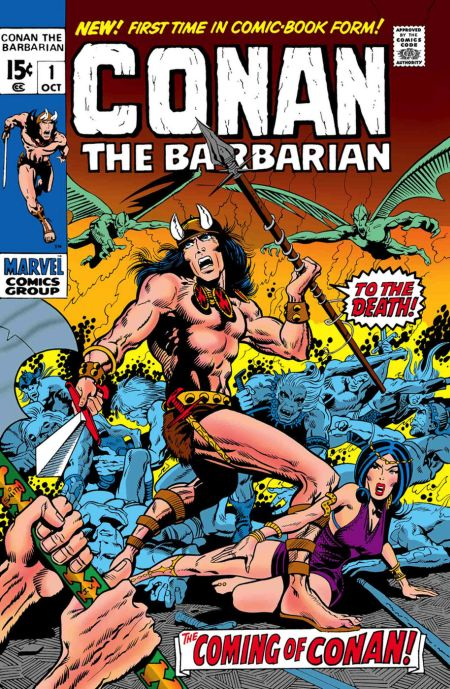 comic book covers, marvel comics, true believers, conan the barbarian, conan the barbarian comics