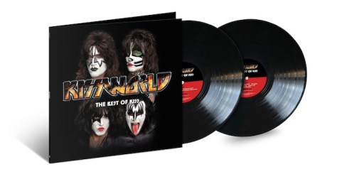 album covers, universal music, kiss, kiss albums