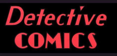 detective comics logo