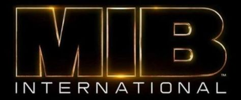 men in black international movie logo