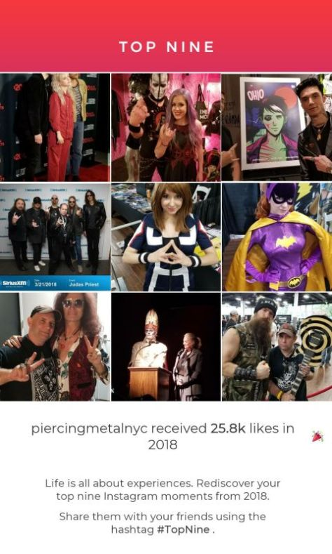 instagram, top nine, years best photos