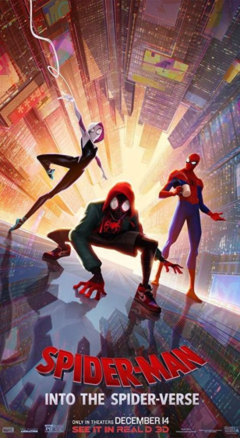 movie posters, promotional posters, sony pictures, spider-man into the spider-verse, spider-man into the spider-verse posters