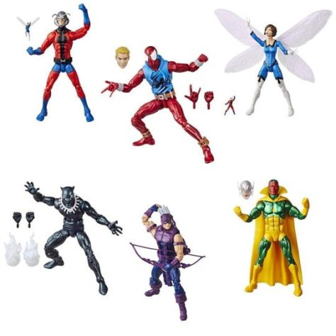 hasbro, hasbro toys, marvel legends series, marvel legends vintage retro series, hasbro action figures