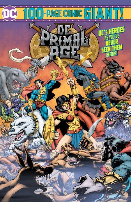 comic book covers, dc comics, dc primal age