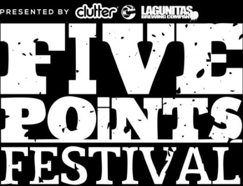five points festival logo