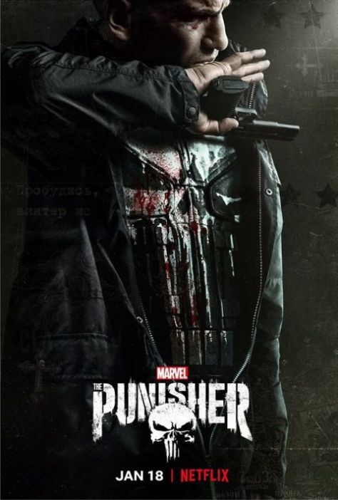 television posters, promotional posters, netflix the punisher,