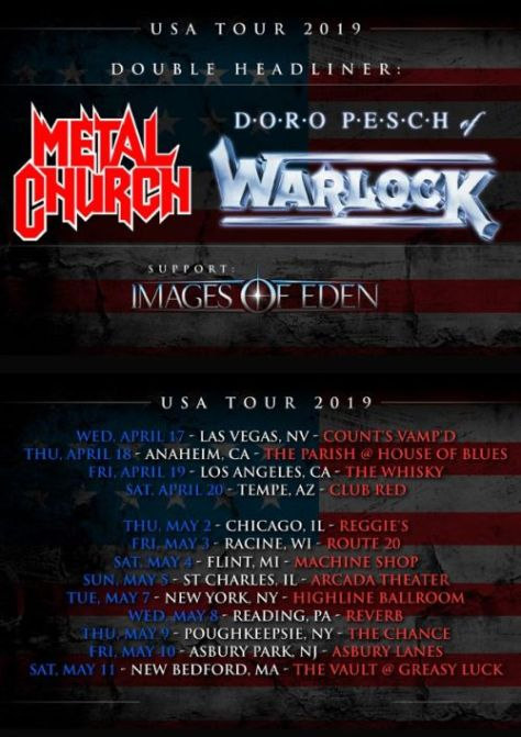 tour posters, doro, doro pesch, doro pesch tour posters, nuclear blast records artists