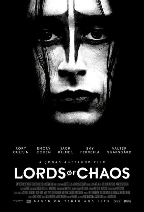 movie posters, promotional posters, vice films, lords of chaos