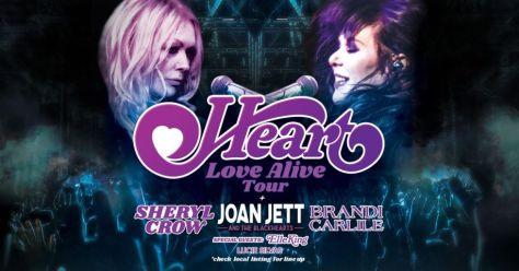 tour posters, heart, heart tour posters, heart love alive tour