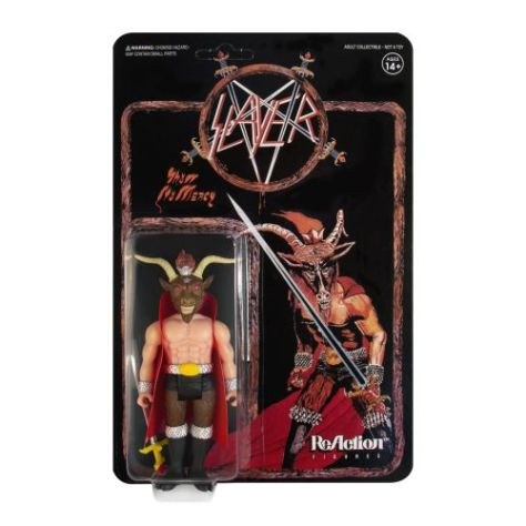 super7, slayer, show no mercy, reaction figures
