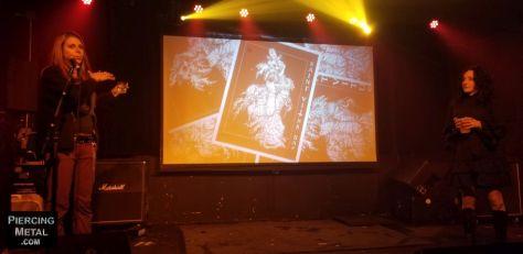 king diamond screening party, metal blade records, saint vitus bar