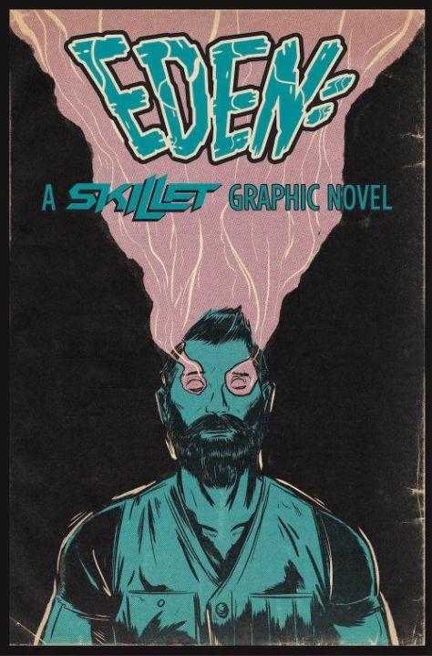 book covers, z2 comics, eden a skillet graphic novel
