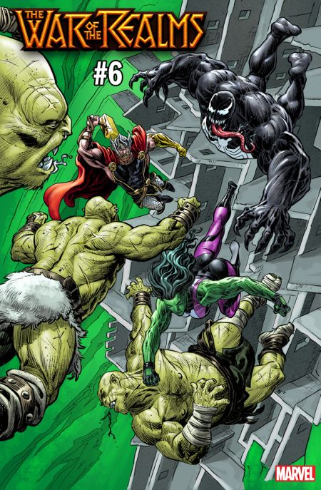 comic book covers, marvel comics, marvel entertainment, variant covers, marvel comics variant covers, the war of the realms