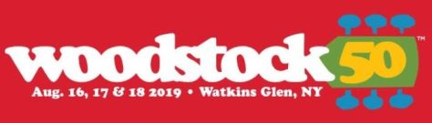woodstock 50th logo