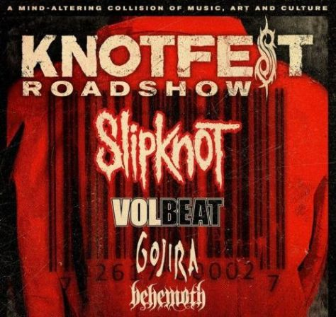 slipknot, knotfest roadshow
