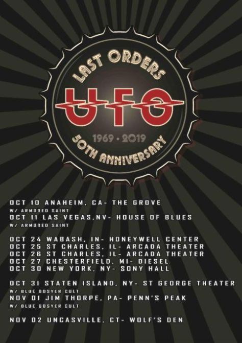 tour posters, ufo, ufo tour posters