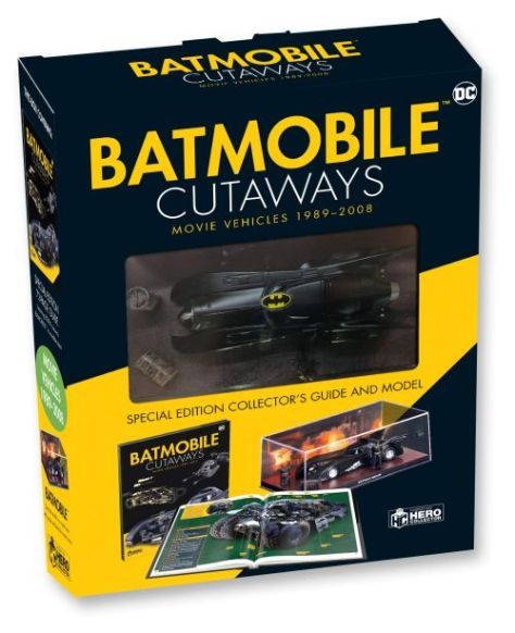 eaglemoss collections, hero collector, batmobile cutaways, batman collectibles
